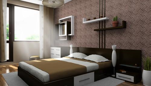 Интериор на спалня в гр. София