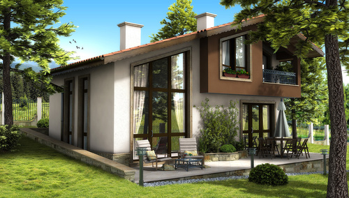Дом в Виница