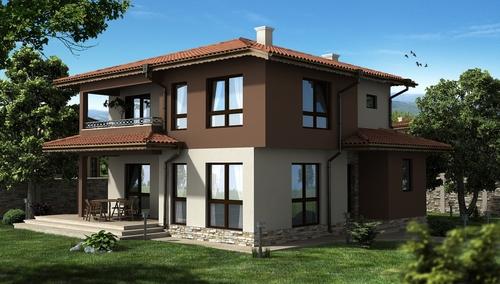 House in Lesnovo