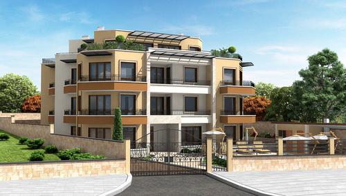 Apartment complex in