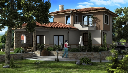 Дом в Ментеше