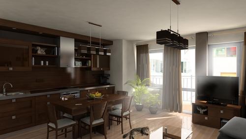 Интерьер квартиры в Варне